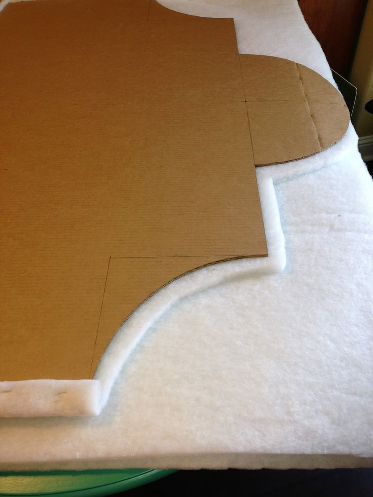 Part 1: DIY Headboard - Using Cardboard Instead of Wood | Lady Ford's Blog About Everything!