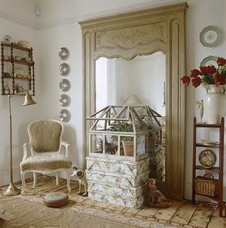 Un'appartamento bohemien a Londra...