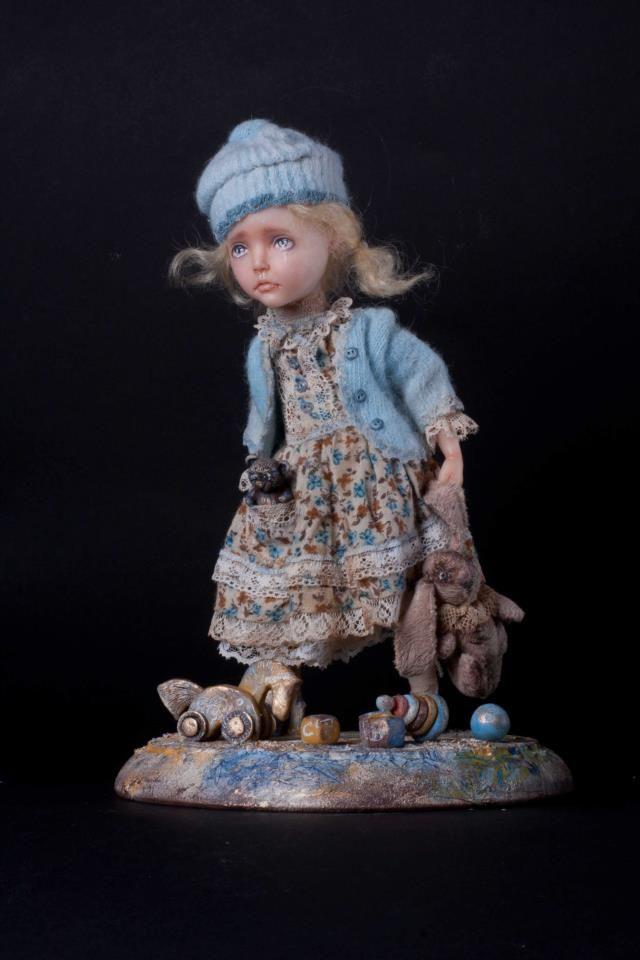 Helena Oplakanska, Artist, Doll's Creator, Odessa, Ukraine