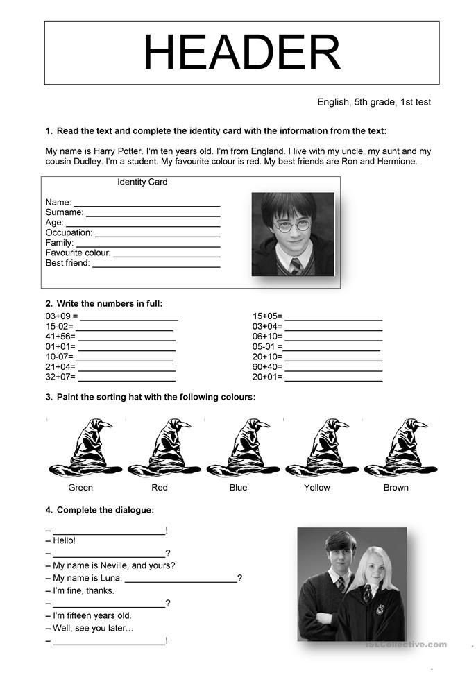 Impeccable image for harry potter printable worksheets