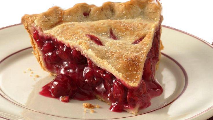 #cherry #pie, una deliziosa #crostata senza uova con due qualità fresche di #ciliegie e #amarene. Una specialità #americana di #Dolceroma.