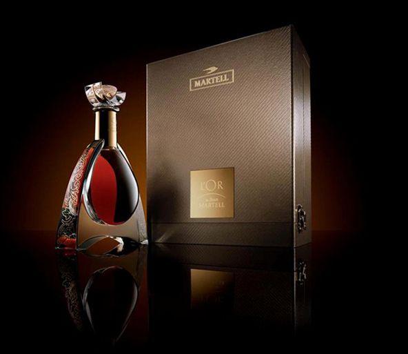 Martell L'Or bottle design