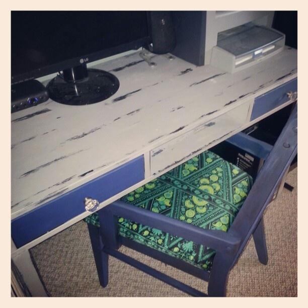 Van gogh Chivalry & Starry Night updated desk / chair
