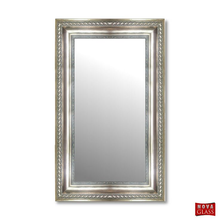 Καθρέπτης τοίχου με ξύλινη κορνίζα Νο 573