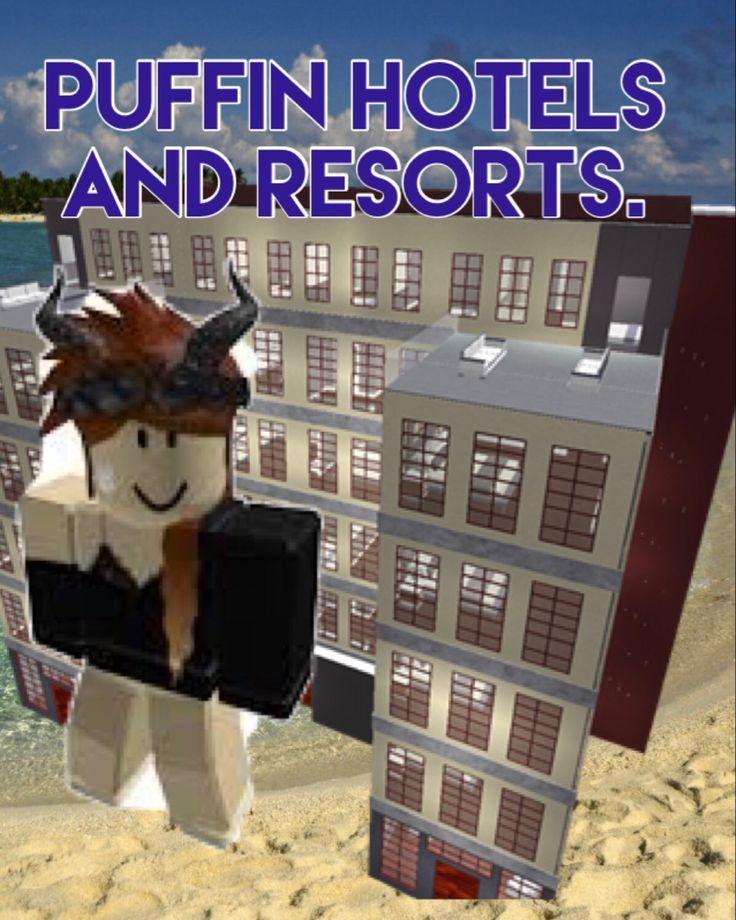 Puffin Hotels Roblox new logo! in 2020 Holiday decor