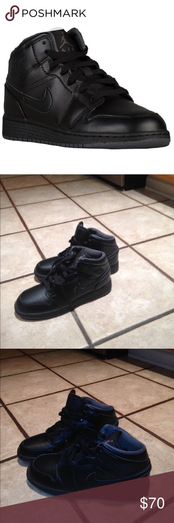 Nike Jordan AJ1 Mid New and not worn. NO TRADES. No extra pics. Nike Shoes Sneakers