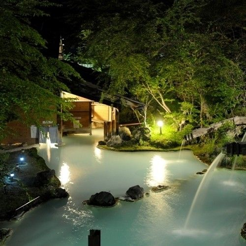 白骨溫泉 ShiraHone Onsen, In Matsumoto city, Nagano prefecture, Japan.