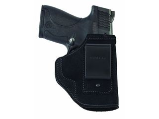 Galco Stow-N-Go Inside the Waistband Holster Right Hand Glock 26, 27, 33 Leather Black