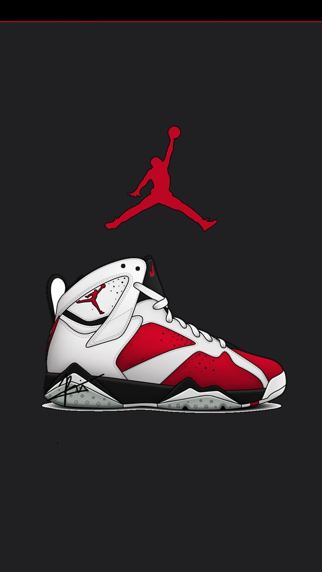 the 25 best iphone wallpaper jordan logo ideas on