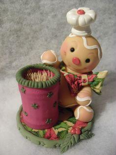 muñecos masitas navideños en porcelana fria - Buscar con Google