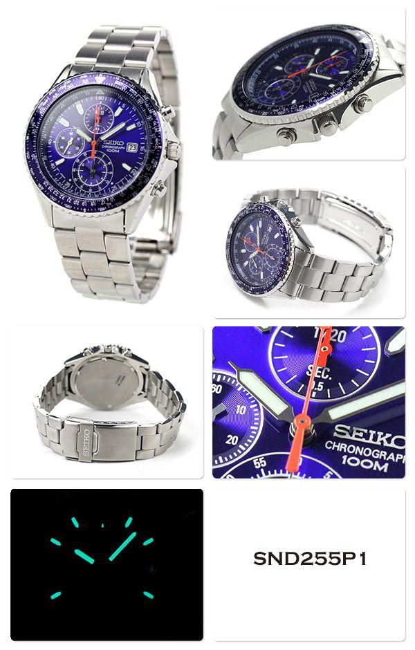 【楽天市場】セイコー 逆輸入 海外モデル 高速クロノグラフ 腕時計 選べるモデル SND253 SEIKO:腕時計のななぷれ