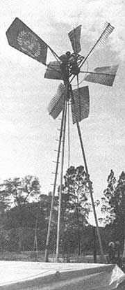 This windmill water pump could be the appropriate technology for your homestead. This article was originally published as