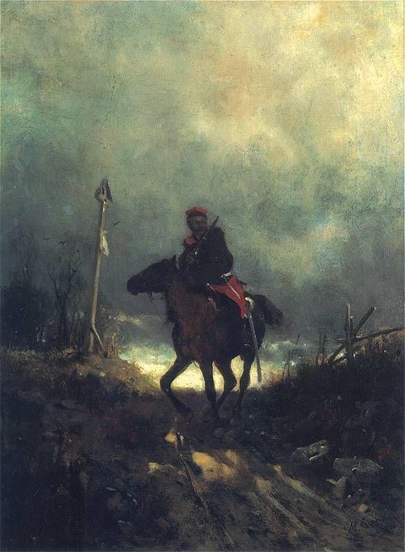 Maksymilian Gierymski: Powstaniec z 1863 roku. Ok. 1869
