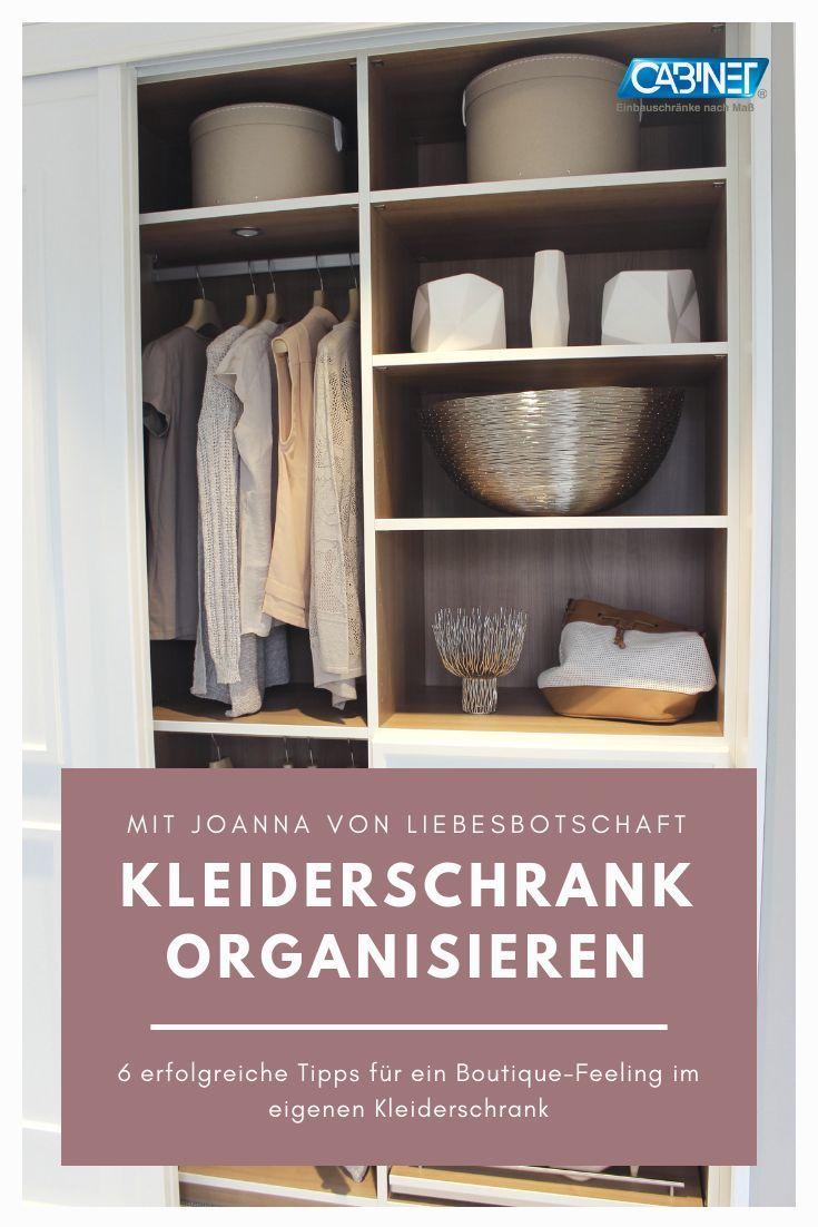 Kleiderschrank organisieren mit Joanna von Liebesbotschaft: 6 Tipps ...