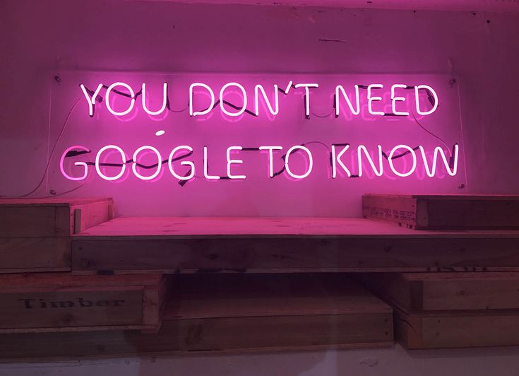 You Don't Need Google To Know