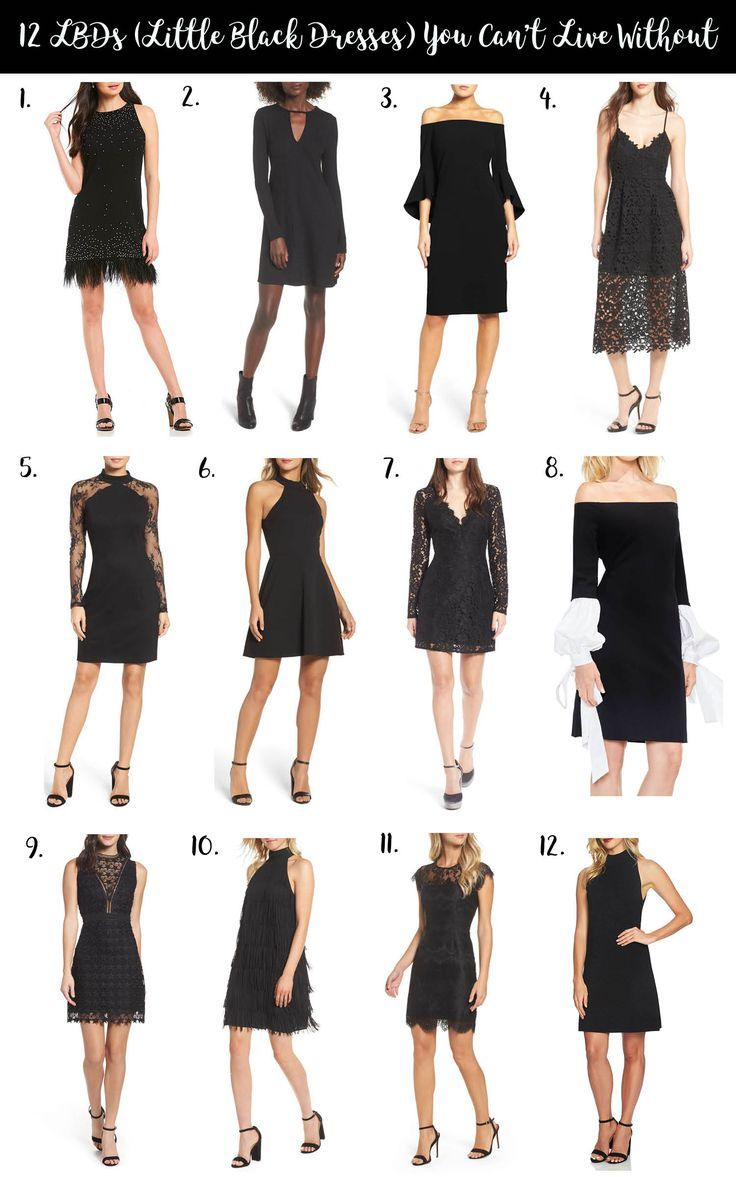 10 Affordable Little Black Dresses Fashion Dressed To Kill Lbd Outfit Casual Party Outfit Black Dress Style [ 1177 x 736 Pixel ]