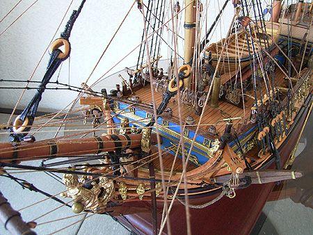 ロイヤル キャロライン(Royal Caroline) 帆船模型_3