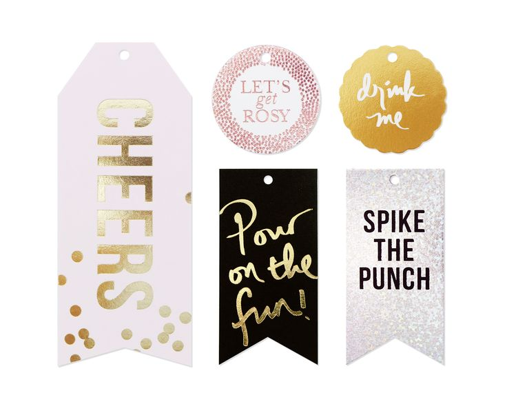 WINE & CHAMPAGNE TAGS. Super cute when you add this to your wine/champagne/drink bottle gifts! Guaranteed will make lots of appearance on your recipients' IG moments! x