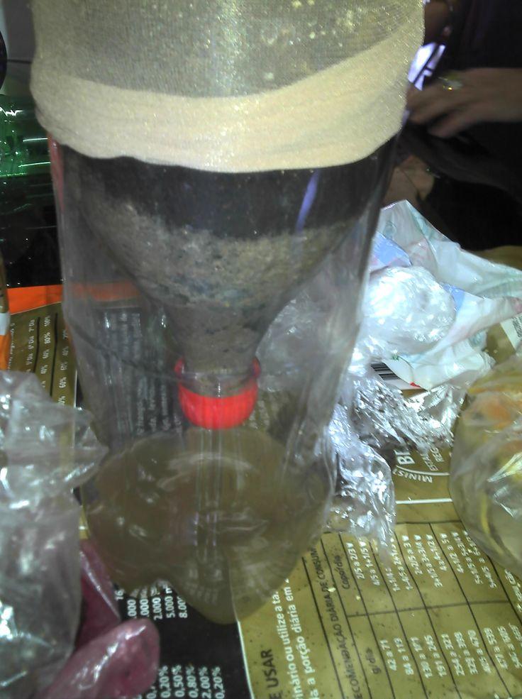 compostagem domestica em garrafa pet