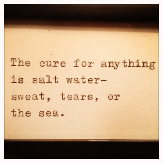 salt water cure @Jenn Rowan thought of you, a Sea lover :)