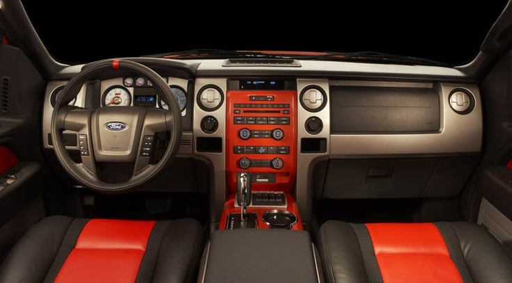 Ford Raptor Interior View