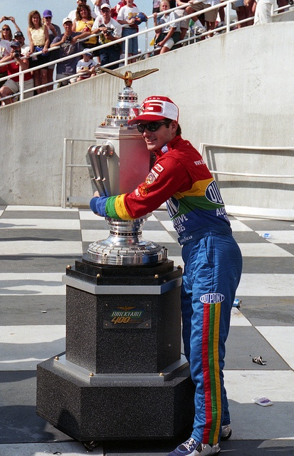 Congrats to Jeff on his fifth brickyard win! Great work - wins the inaugural and then does it again 20 years later!
