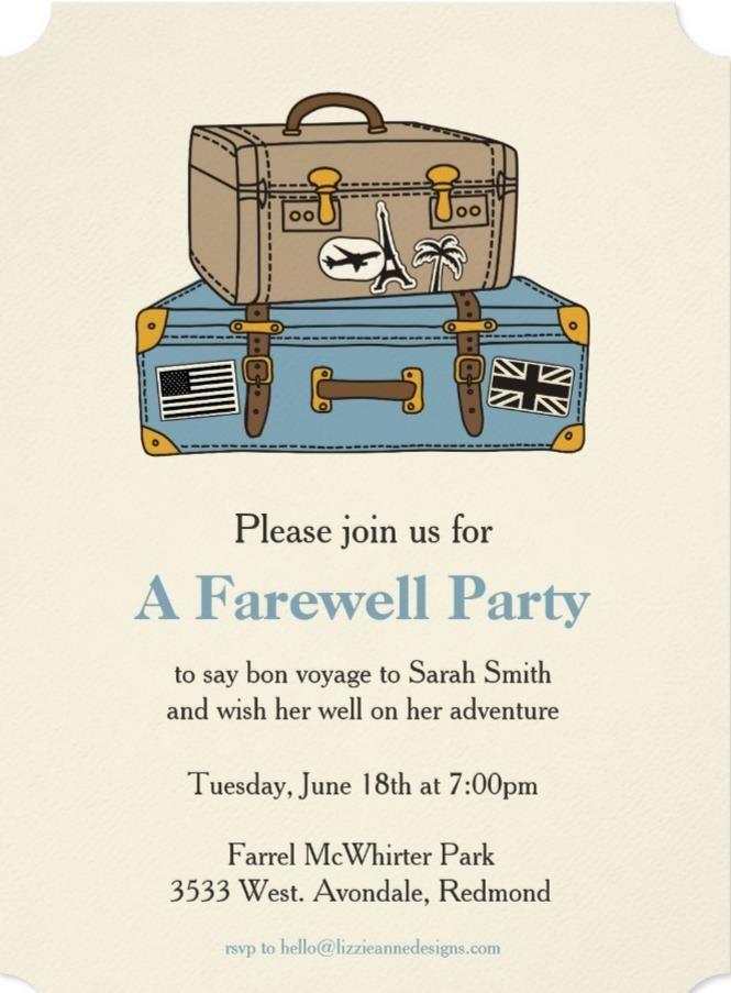 the 25 best farewell invitation ideas on pinterest