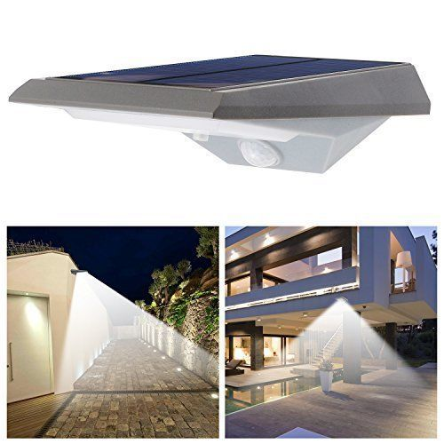 Outdoor Solar Lights LED Motion Sensor Waterproof Ultra Bright Garden Garaze NEW #iThird