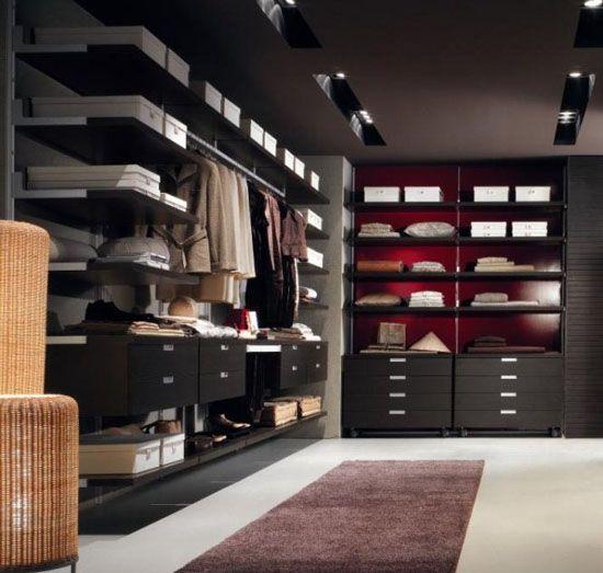 giyinme odaları ve dekorasyonu