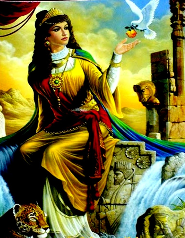 prominent Iranian princess  SHIRIN