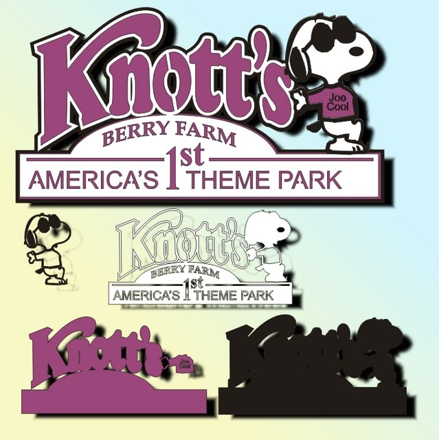 Knotts Berry Farm- Love this place. The rides are fast and fun and better than Disneyland and Six Flags in my opinion.