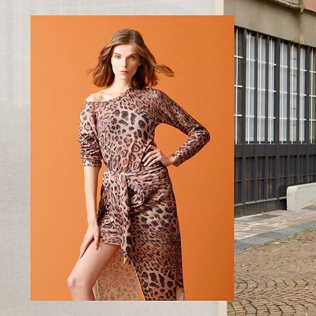 Animalier total look, in love with this print!  #animalier #look #120percento #womanswear #print #outfit #cashmere #120cashmere #style #december #monday #fashion #store #shopping #milano