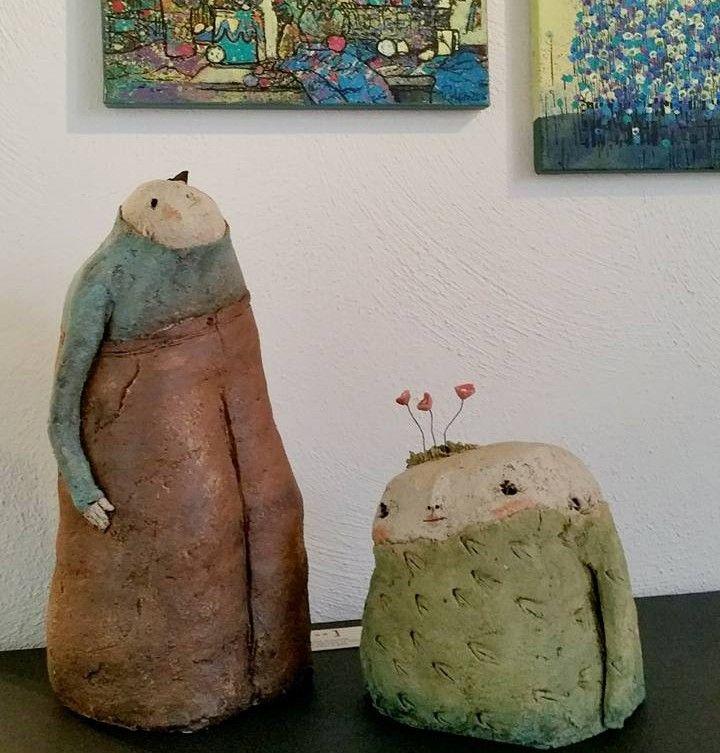Anne – Sophie Gilloen | Lief en grappig of toch meer? Keramiek uit Frankrijk | IROK galerie lijstenmakerij kunstuitleen