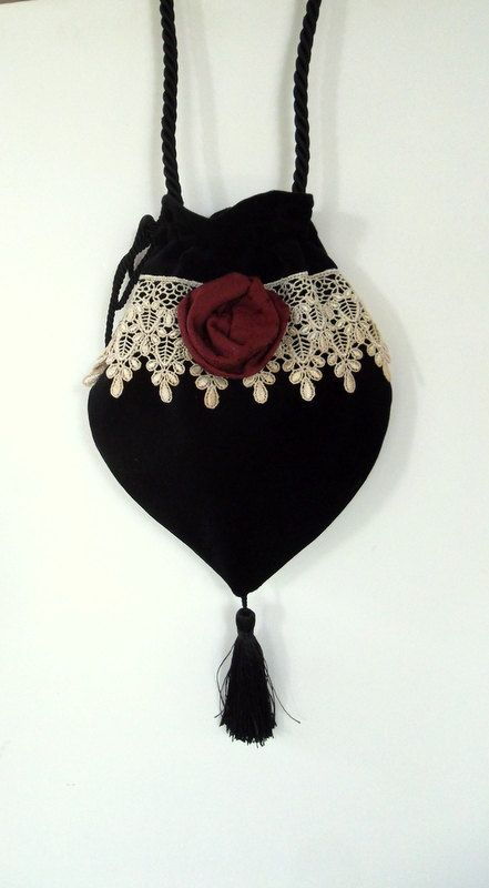 Hey, I found this really awesome Etsy listing at https://www.etsy.com/listing/167332992/lace-and-rosette-victorian-black-velvet