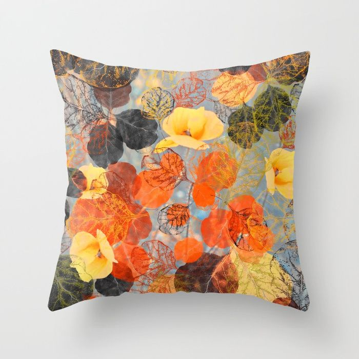 Buy Leaf mosaic(36) Throw Pillow by maryberg. Worldwide shipping available at Society6.com. Just one of millions of high quality products available.