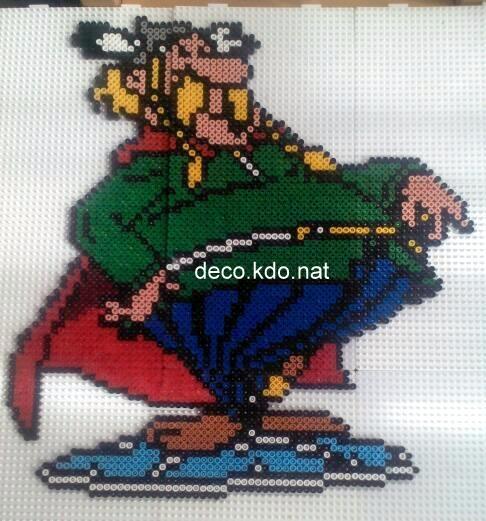 sandylandya@outlook.es  Abraracourix Asterix hama beads by decokdonat