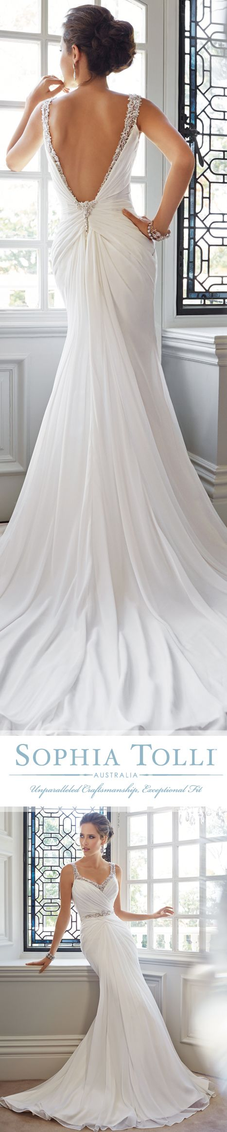 Style No. Y21443 ~ Talia, Wedding Dresses 2015 Collection – #wedding #dress #weddingdream123