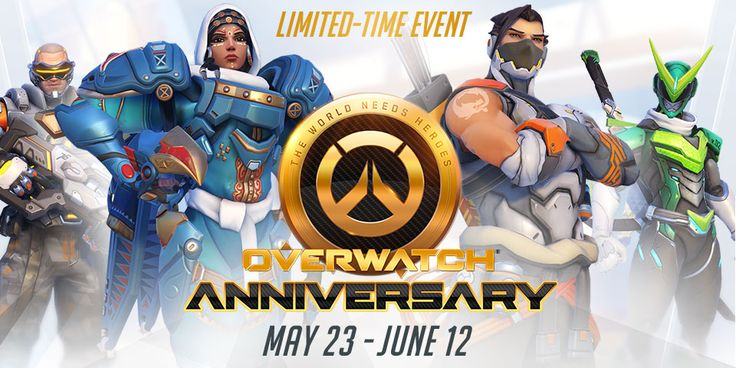 To celebrate the success of the first year of Overwatch Origins, the game will be free to play over this weekend from Friday 26th on PS4 / Xbox One / PC     www.gamestock.co/... The Overwatch: Game of the Year Edition comes out digitally on Tuesday, May 23 and includes the following bonus items: 10 Loot Boxes with random items such as credits, skins, emotes, poses voice lines, sprays and highlight intros. Mercy's wings for Diablo 3 players Tracer for Her