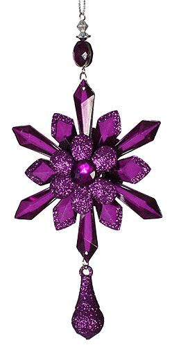 Purple Ornament (((Love this. Want this)))) YES, YES♥♥♥