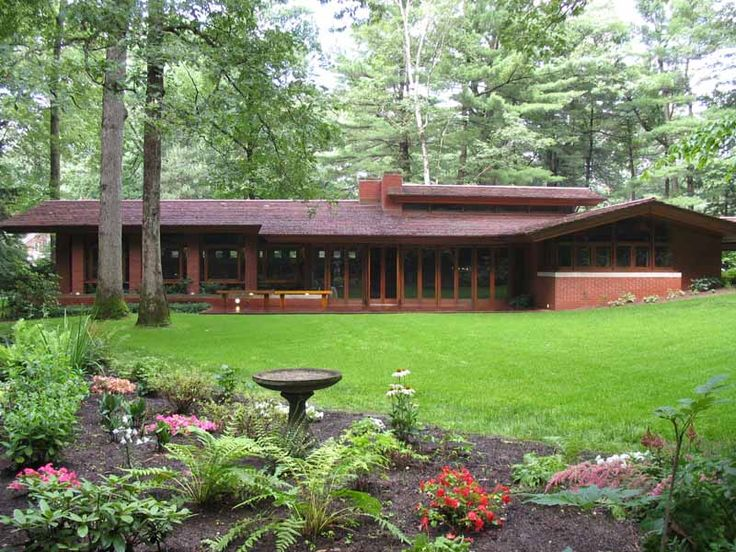 frank lloyd wright homes | Zimmerman House, Frank Lloyd Wright Home, Photos, USA, Zimmerman House ...