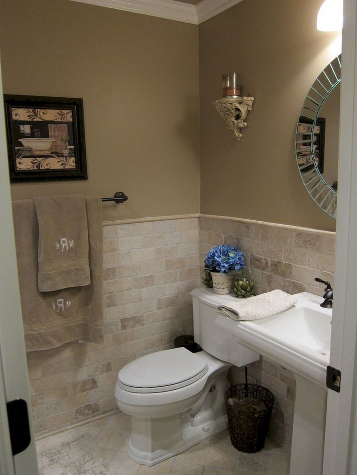 70 Fefreshing and Cool Powder Room Design & Decoration Ideas