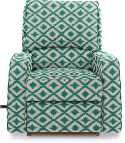 Cole Reclina-Rocker® Recliner by La-Z-Boy  @Amy Lyons Jane @Lauren Davison Varner  What do you ladies think about this pattern? For the nursery, I kind of LOVE this pattern but it also comes in turquoise (no print)