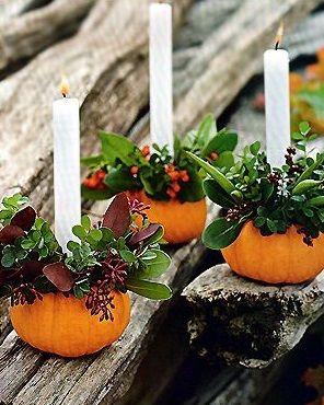 Blog - easy arrangements using pumpkins & gourds