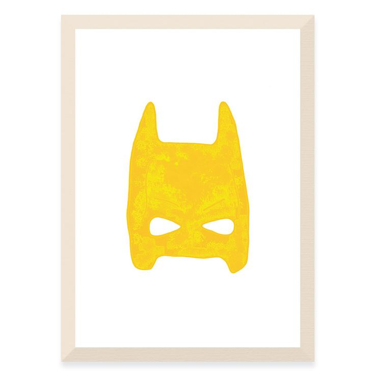 Batman Mask - Yellow