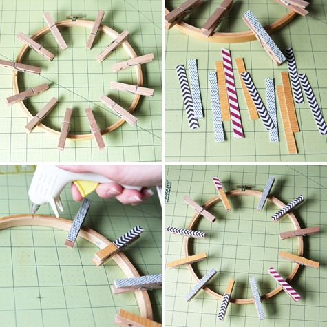 How To Make A Gift Card Wreath.