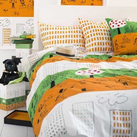 Housse de couette 1 personne et taie d oreiller collection Oenskedroem Ikea