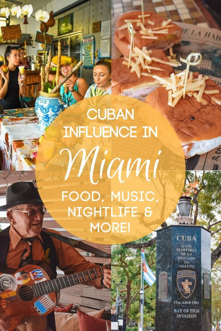 Did you know Miami has a strong Cuban influence? Find out all the best Cuban things to do in Miami, from food, drinks, nightlife and much more!
