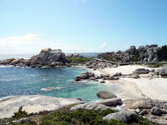Playa de Pedras Negras, en San Vicente do Mar, O Grove. Rías Baixas Galicia #SienteGalicia