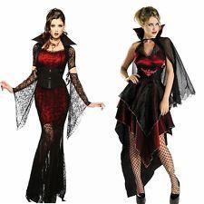 Halloween Horror Vampir Vamp Verführerin Damen Kostüm Sexy Verkleidung