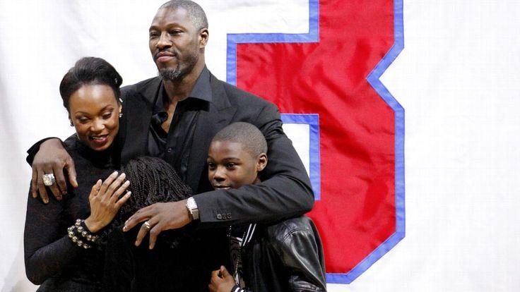 Pistons retire Ben Wallace's jersey